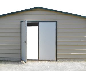 "White Mobile Home Doors 3 sizes to choose from 36""x72"", 36""x80"", 72""x72"" (double door) 20 gauge, insulated heavy duty doors available. We can frame out your personal door at an extra cost. Restrictions apply."